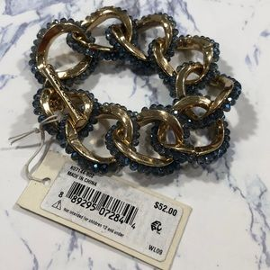 Kenneth Cole New York- Blue and gold bracelet.